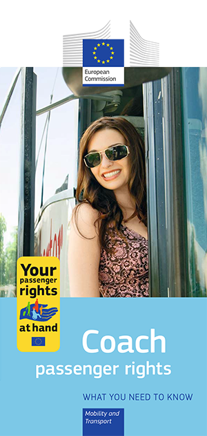 Coach passenger rights - leaflet