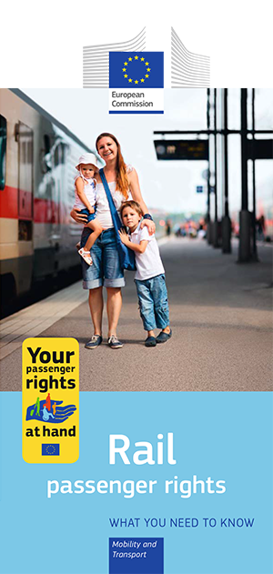 Rail passenger rights - leaflet