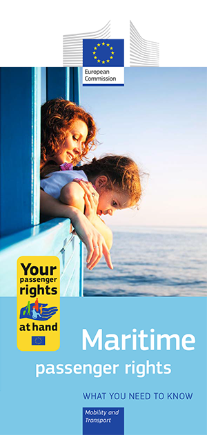 Ship passenger rights - leaflet